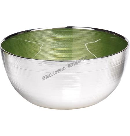 "Чаша ""SINFONIA"" (цвет зеленый) d21см 1751783"