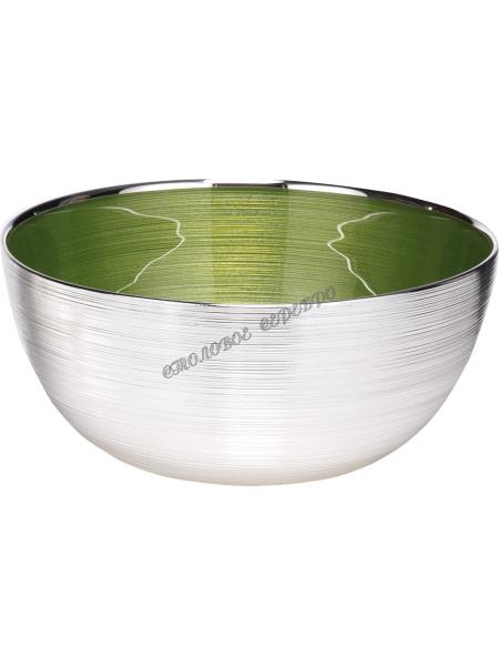 "Чаша ""SINFONIA"" (цвет зеленый) d24см"