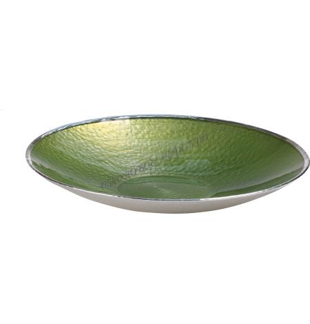 "Тарелка ""SINFONIA"" (цвет зеленый) d25см 1751785"
