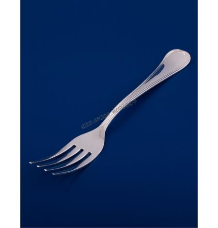 Серебряная столовая вилка №16