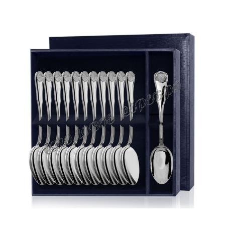 Серебряный столовый набор «Визит» 12 предметов (ложки)