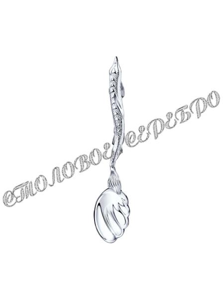 Серебряная ложка для икры