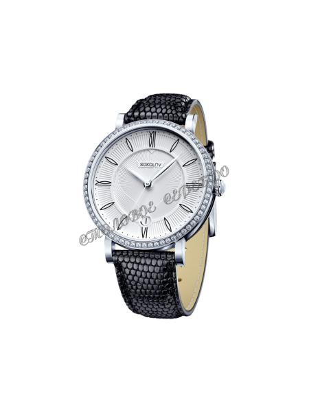 Женские серебряные часы Limited Edition SOKOLOV 102.30.00.001.01.01.2