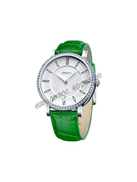 Женские серебряные часы Limited Edition SOKOLOV 102.30.00.001.01.06.2