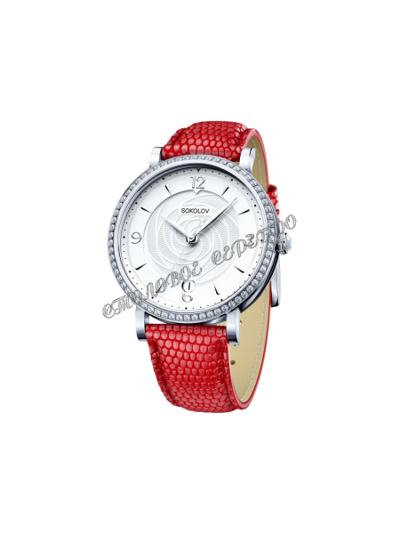 Женские серебряные часы Limited Edition SOKOLOV 102.30.00.001.03.03.2