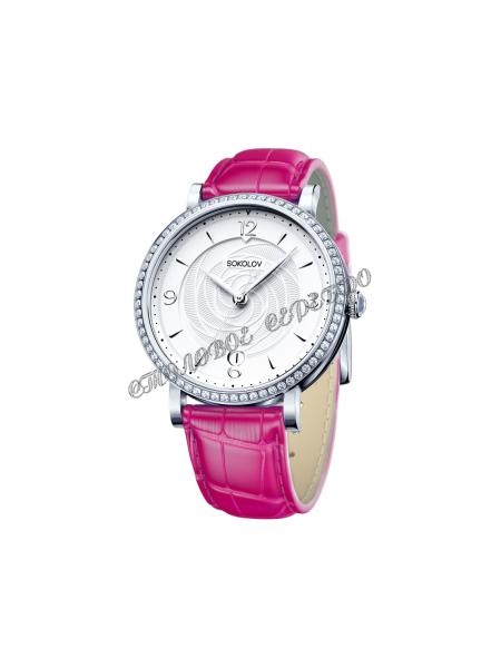 Женские серебряные часы Limited Edition SOKOLOV 102.30.00.001.03.04.2