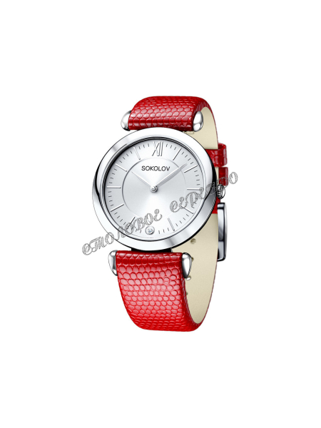 Женские серебряные часы Limited Edition SOKOLOV 105.30.00.000.01.03.2