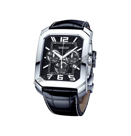 Мужские серебряные часы Limited Edition