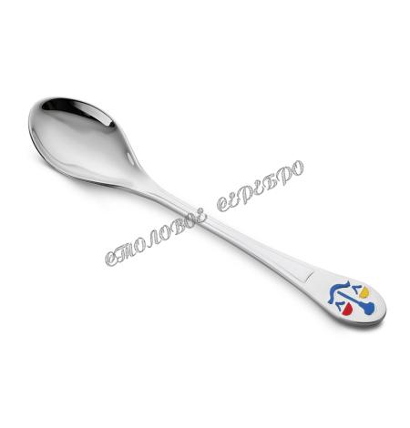 Детская серебряная ложка «Весы» 42389