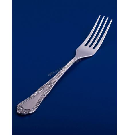 Серебряная столовая вилка №22