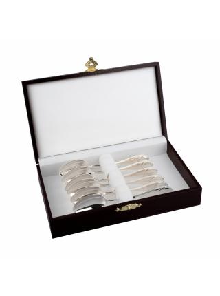 Набор серебряных кофейных ложек «Классический»