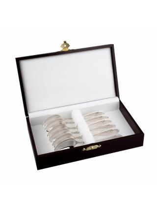 Набор серебряных кофейных ложек «Посольский»