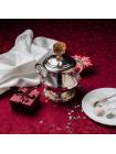 Серебряная сахарница из набора «Государственный» с позолотой