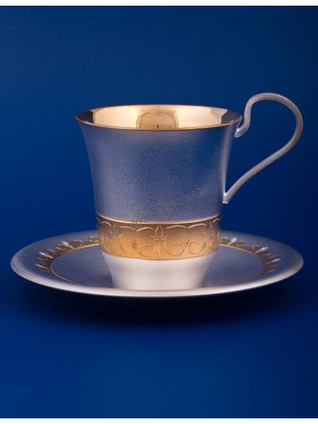 Чашка с блюдцем №11