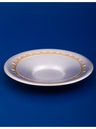 Чашка с блюдцем №11 мельхиор