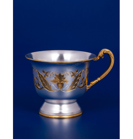 Серебряная чашка №16