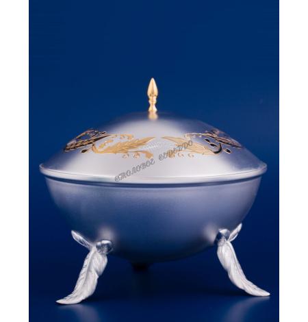 Серебряная ваза для меда №23