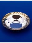 Серебряная розетка для варенья №3