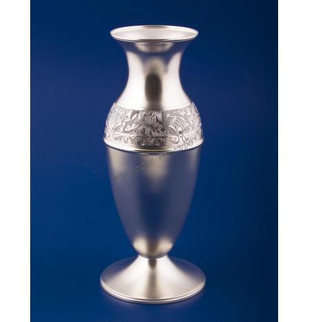 """Серебряная ваза для цветов """"Ривьера"""""""