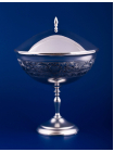 Серебряная ваза для варенья №11