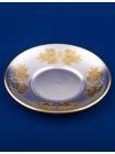 Серебряная чашка с блюдцем № 11 позолота
