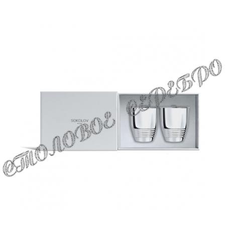 Набор серебряных стаканов  от SOKOLOV