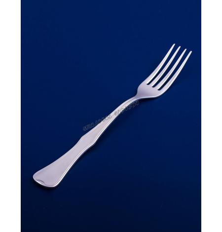 Серебряная столовая вилка №14