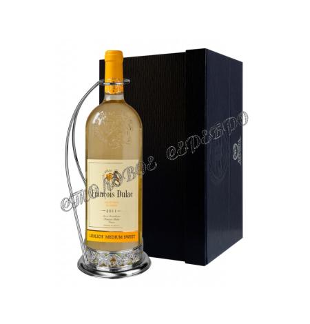 Подставка для бутылки «Виноград» из серебра