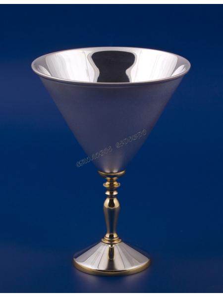 Серебряный бокал для мартини № 20