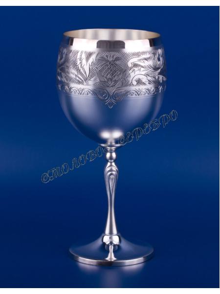 Серебряный бокал для вина №43