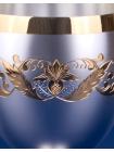Серебряный бокал для красного вина №40