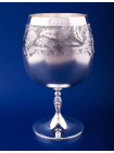 Серебряный бокал для коньяка №41