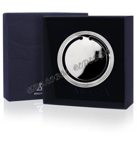 """Серебряная закладка для книг  """"Гладкая"""" 295ЗК22001"""